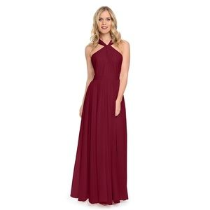 Dove & Dahlia Bridesmaids Dress in Cabernet